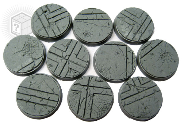 Beveled Bases: Ruined Temple 25mm