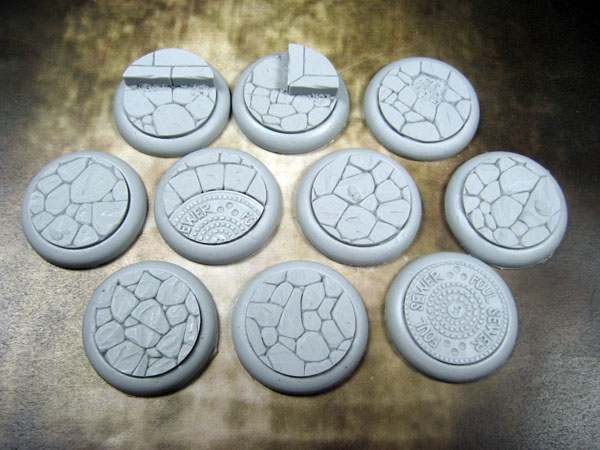 Round Lip Bases: Town Square 30mm